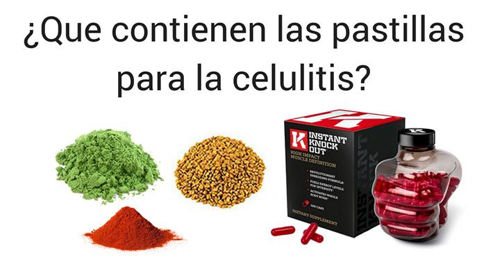 Las mejores pastillas para la celulitis