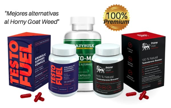 Alternativas al Horny Goat Weed mejores suplementos de testosterona